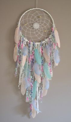 Chic Dream Catcher Kinderzimmer Dreamcatcher Boho Wandbehang Dekor Hand Made , Boho Chic Dream Catcher Nursery Dreamcatcher Boho Wall Hanging Decor Boho Chic Traumfänger Kindergarten Traumfänger Boho Dream Catcher Decor, Dream Catcher Nursery, Large Dream Catcher, Feather Dream Catcher, Dream Catcher Boho, Beautiful Dream Catchers, Dream Decor, Tapestry Wall Hanging, Wall Hangings
