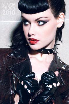 Di Rourke--Goth punk is Starr's best friend from Jr. High but they grew apart. Kickass Doc Marten wearing tough girl