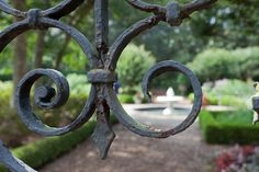 Wrought Iron Curves, via Flickr