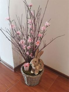 Easter Decorations For The Home; decorations ideas 60 Easter Holiday Home Decorations Easter Crafts Ideas Easter Tree Decorations, Easter Wreaths, Table Decorations, Diy Osterschmuck, Easy Diy, Easter Festival, Diy Ostern, Hoppy Easter, Easter Holidays