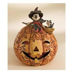 jim shore disney | JIM SHORE DISNEY MINNIE SPELLBINDING HALLOWEEN FIGURINE