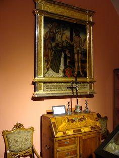 Malowane epitafium Juliana Chełmskiego - klasztor Zgromadzenia Księży Misjonarzy na Stradomiu
