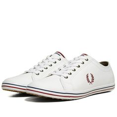 Fred Perry Kingston Leather (White)
