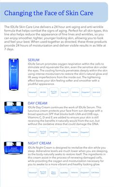 IDLife Skincare - renew your DNA.  MyPlan.IDLife.com