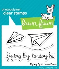 Lawn Fawn FLYING BY Clear Stamps