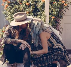 » bohemian lovers » boho couple style » wild adventures » free spirits » wanderers » living free » bohemian life »