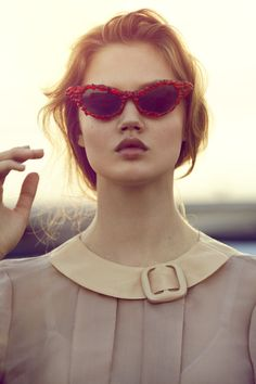 lindsey wixson x will davidson for oyster mag.