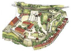 History of Eger castle Castle Ruins, Medieval Castle, Hungary, Boho Shorts, Russia, History, Folk Art, House, Fashion