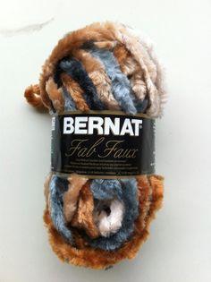 Bernat Fab Faux Fur Yarn SHEARLING / Yarn / by dcoyshouseofyarn