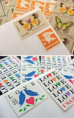 I love vintage stamps...!