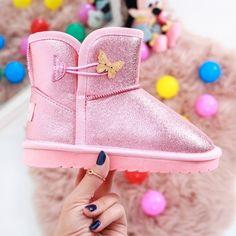 Cizme copii Laurenza roz Ugg Boots, Rain Boots, Uggs, Sport, Casual, Fashion, Moda, Deporte, Fashion Styles