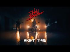 HOT BREATH - RIGHT TIME (Official Video) - YouTube Right Time, Debut Album, Breathe, Music Videos, Hot, Youtube, Youtubers, Youtube Movies