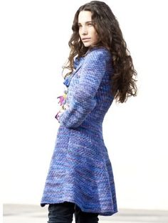 I'm probably going to be making  this lovely sweater when I finish the project I'm currently on...