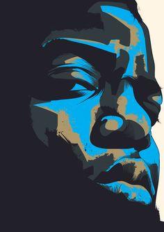 'Biggie Smalls Hip Hop' by Arte Hip Hop, Hip Hop Art, Illustrations, Illustration Art, Rapper Art, Biggie Smalls, Dope Art, Cultura Pop, Black Art