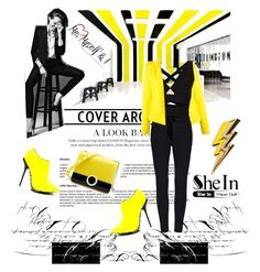 """""""sheinside"""" by mana-man ❤ liked on Polyvore featuring Alexandre Vauthier, Proenza Schouler, Anya Hindmarch, women's clothing, women's fashion, women, female, woman, misses and juniors"""