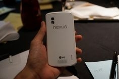 Google LG Nexus 4 White leaked!