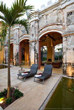 Casa de Maquinas, Hacienda Sac Chich, Mexico