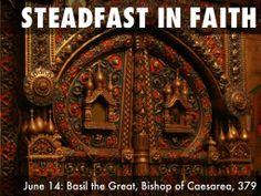 Holy Women Holy Men - June Basil the Great, Vishop of Caesarea For All The Saints, Free Presentation Software, Haiku, Missouri, Holi, Basil, June, Deck, Women