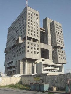 The House of Soviets #architecture #brutalism