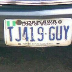 Hi! It's Hyrish Blog: Lmao...which 'kain' plate number be this? (photo)