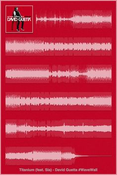 David Guetta - Sia - Titanium : iPhone 4 Poster #WaveWall (http://itunes.apple.com/app/wavewall/id595786336?mt=8)