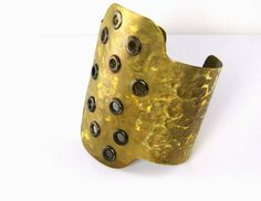 Brass cuff  Light weighted adjustable stylish by simplyfaina, $45.00