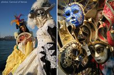 carnival of venice costumes and masks