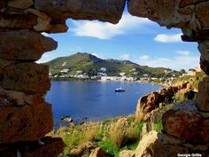Patmos ~ where John wrote the book of Revelation :) Greece Islands, Travelling, Greek, God, Places, Water, People, Outdoor, Cow
