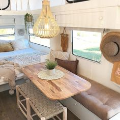 Camping trailer remodel rv makeover pop up 24 Ideas Decor, Caravan Renovation, Chuck Box Plans, Interior, Remodeled Campers, Tiny Living, Home Decor, Van Home, Camper Living