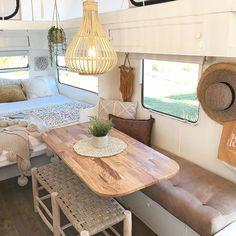 Camping trailer remodel rv makeover pop up 24 Ideas Kombi Motorhome, Rv Campers, Camper Trailers, Camper Van, Camper Life, Tiny Camper, Travel Trailers, Camping Car Van, Camping Chuck Box