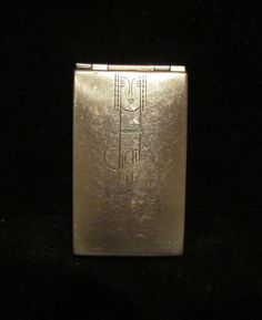 Vintage Art Deco Charles Of The Ritz Compact 1930's Powder Rouge & Mirror…