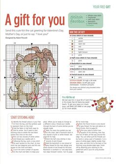 Cross Stitch Card Shop Sept-Oct 2014 - page 5 Xmas Cross Stitch, Cross Stitch Cards, Cross Stitch Animals, Cross Stitching, Cross Stitch Embroidery, Cross Stitch Designs, Cross Stitch Patterns, Christmas Cross, Fizzy Moon