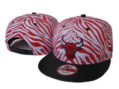 NBA CHICAGO BULLS SNAPBACK New Era Red and White Stripe921 95bd6214e7e