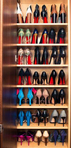 shoe closet lust