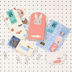 Bunny Mini Notebook (Cute) - with pencil - As adorable as a pet and even more useful, this is the cutest little notepad. Small enough to fit in your pocket or bag, this fun friend comes with its own handy pencil. Cute Characters, Cute Designs, Dog Cat, Bunny, Things To Come, Kitty, Pets, Mini, Kitten