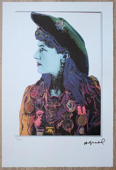 Queen Margrethe Ii, Annie Oakley, Back Art, Andy Warhol, Elizabeth Ii, Art For Sale, Digital Prints, Leo, The 100