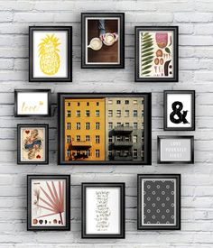 A roundup of trendy and beautiful free art printables for gallery walls. From patterns to calligraphy to modern stock pics, we've got your hip prints here. Diy Wall Art, Diy Art, Wall Decor, Free Printable Art, Free Printables, Free Prints, Wall Prints, Home And Deco, Wall Collage