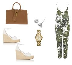 """""""451 outfit"""" by julieannbb13 on Polyvore featuring Topshop, Tabitha Simmons, Yves Saint Laurent, Bony Levy and Tory Burch"""