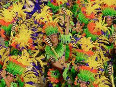 """The carnival of Rio de Janeiro is held each year 40 days before Easter. It is an example of how Brazilians and tourists come together to celebrate, disregarding their cultural differences. """"This is a very important holiday in the Catholic calendar and one of the largest revenue generators in Rio""""."""
