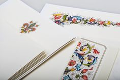 Florentine stationery writing set. 100% italian style! Made in Florence by Rossi 1931. www.rossi1931.com