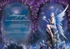 Stargazer fairy blank card [AN44] - £2.49 : Dragonrat Jewellery