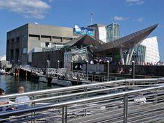 New England Aquarium in Boston Massachusetts.