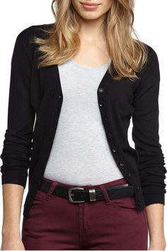 $15.00 aud This cute long sleeve v-neck cardie loves to be layered. Composition: 80% Acrylic, 20% Polyamide