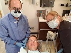 Because even the dentist gets a cavity sometimes. Thankful for friends in the field.