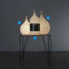 In-es.artdesign - Luce Liquida 3 - Table lamp - Design lighting | Light Shopping