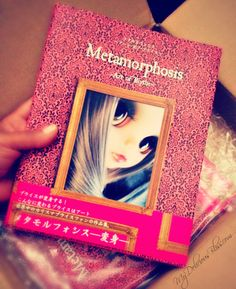 Delicious Bliss: Metamorphosis Art of Blythe I picked this up at Junie Moon in Japan