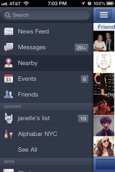 FB App. One of the better improvements.