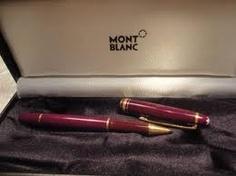 stylo mont blanc avec diamant