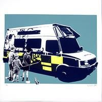 Taggers By Static: Category: Art Currency: GBP Price: GBP90.00 Retail Price: 90.00 This hand pulled screen print is taken from the 'LITTLE…