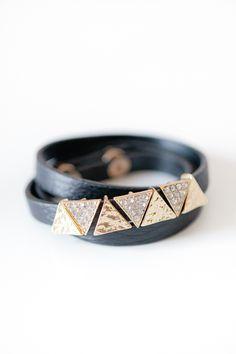Triangle Wrap Bracelet
